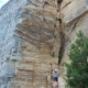 Kris Nielson Rock Climbing